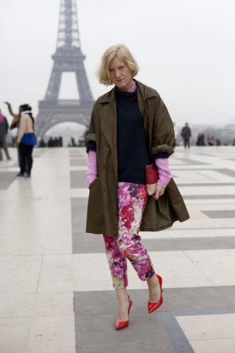 floral pants,oloivia palermo