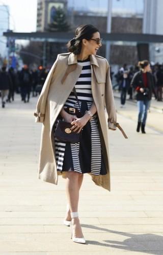 rihe,bianco e nero,striped,street style,,
