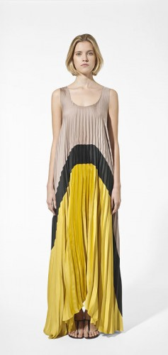 trench,long dress,plissé,abito plissé